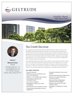 tax credit services brochure