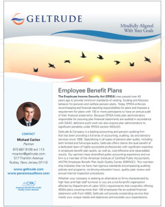 Geltrude Employee Benefit Plans Brochure