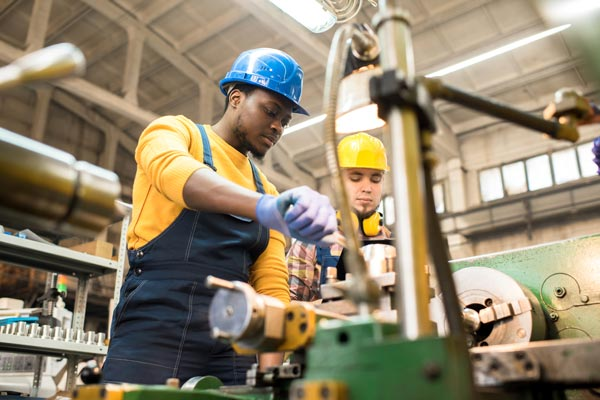 manufacturing and wholesaling workers